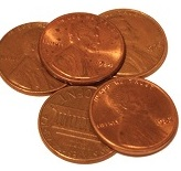 Pennies on the pound