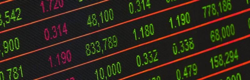 Stock price board