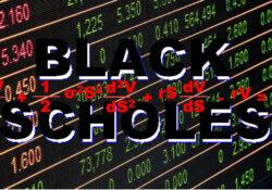Black Scholes pricing model